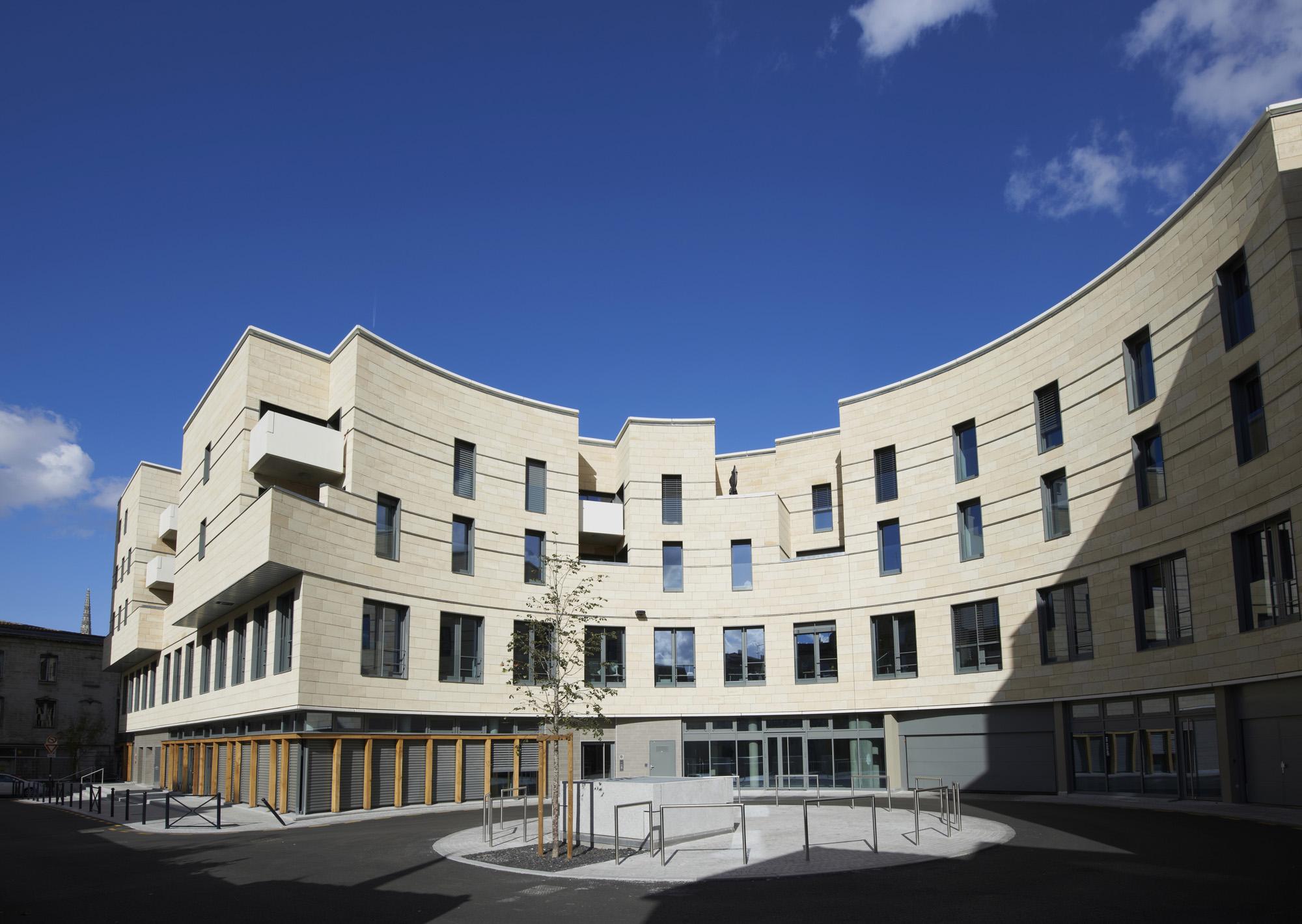 Ilot Cursol à Bordeaux, réalisé en opération propre